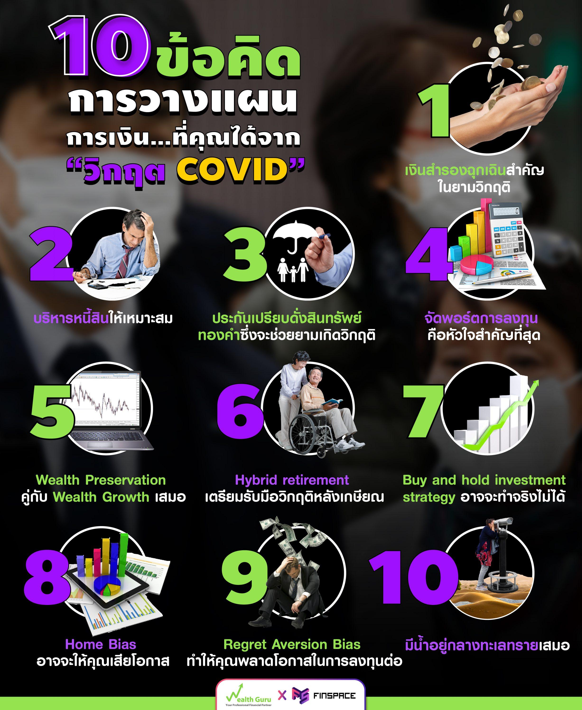 การวางแผนการเงิน Covid-19