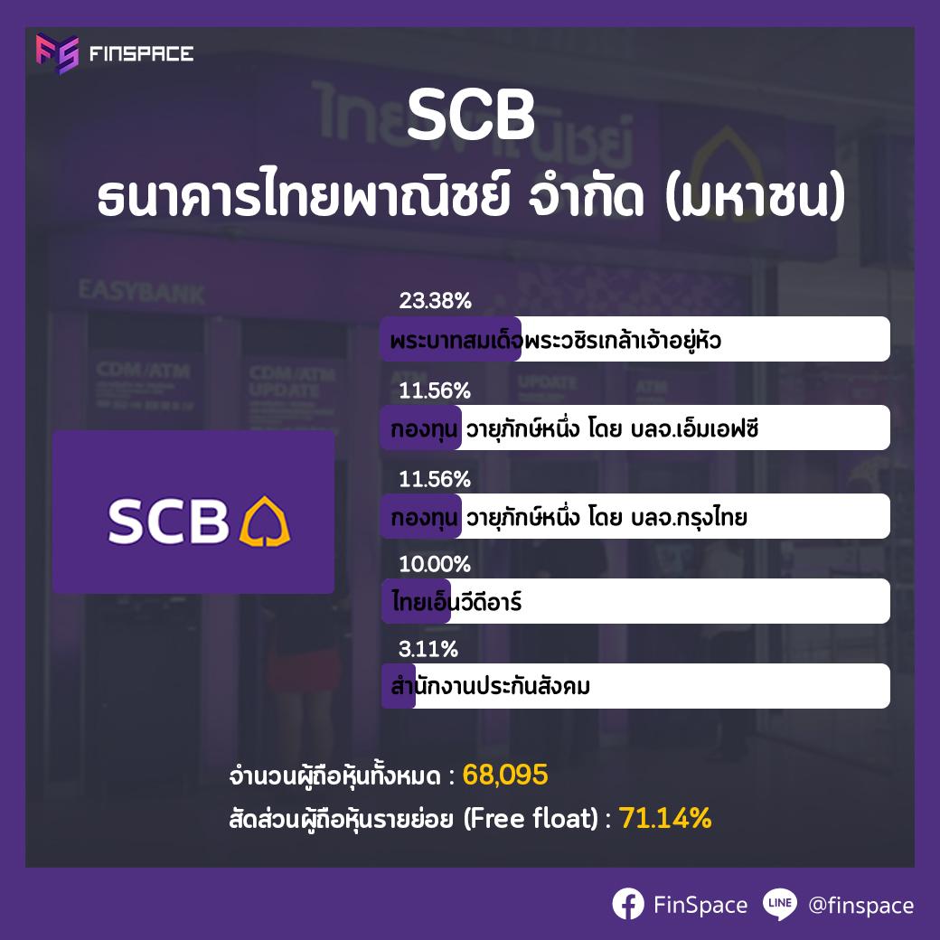 SCB ผู้ถือหุ้นใหญ่
