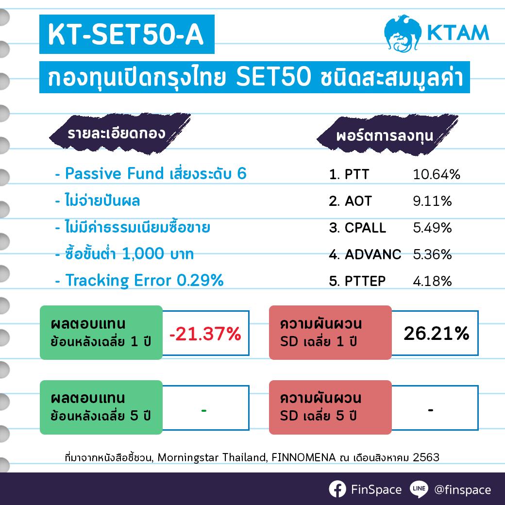 สรุป KT-SET50-A