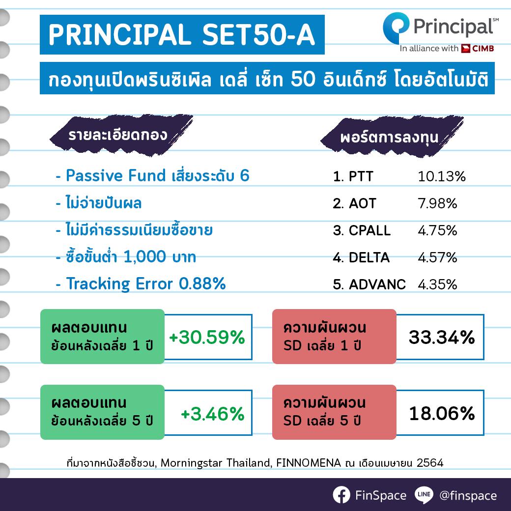 สรุป-PRINCIPAL-SET50-A