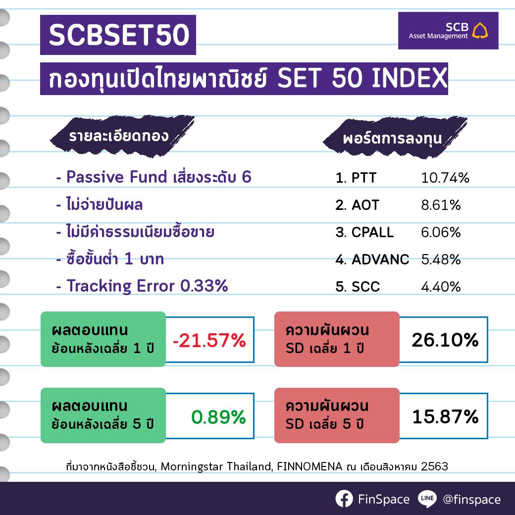 สรุป SCBSET50