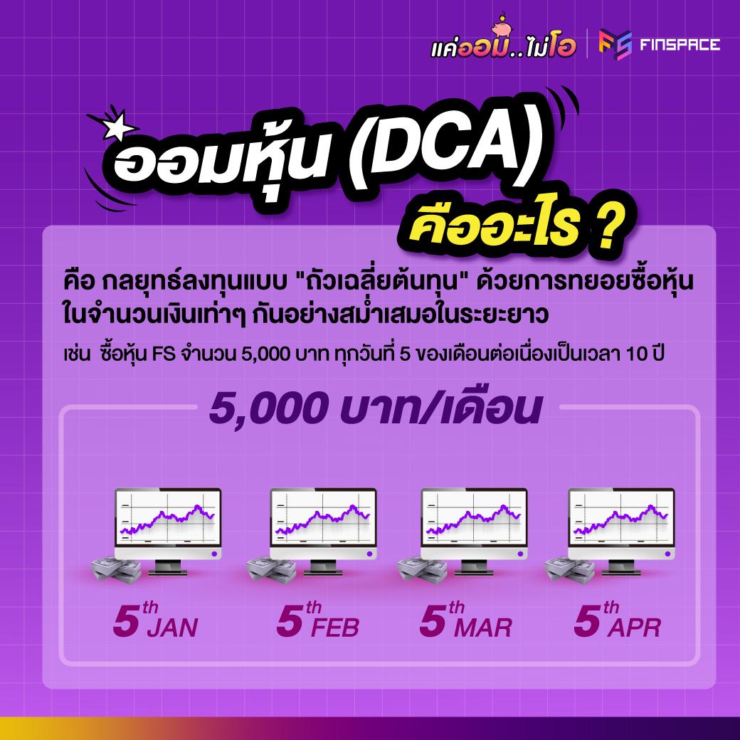 ออมหุ้น DCA