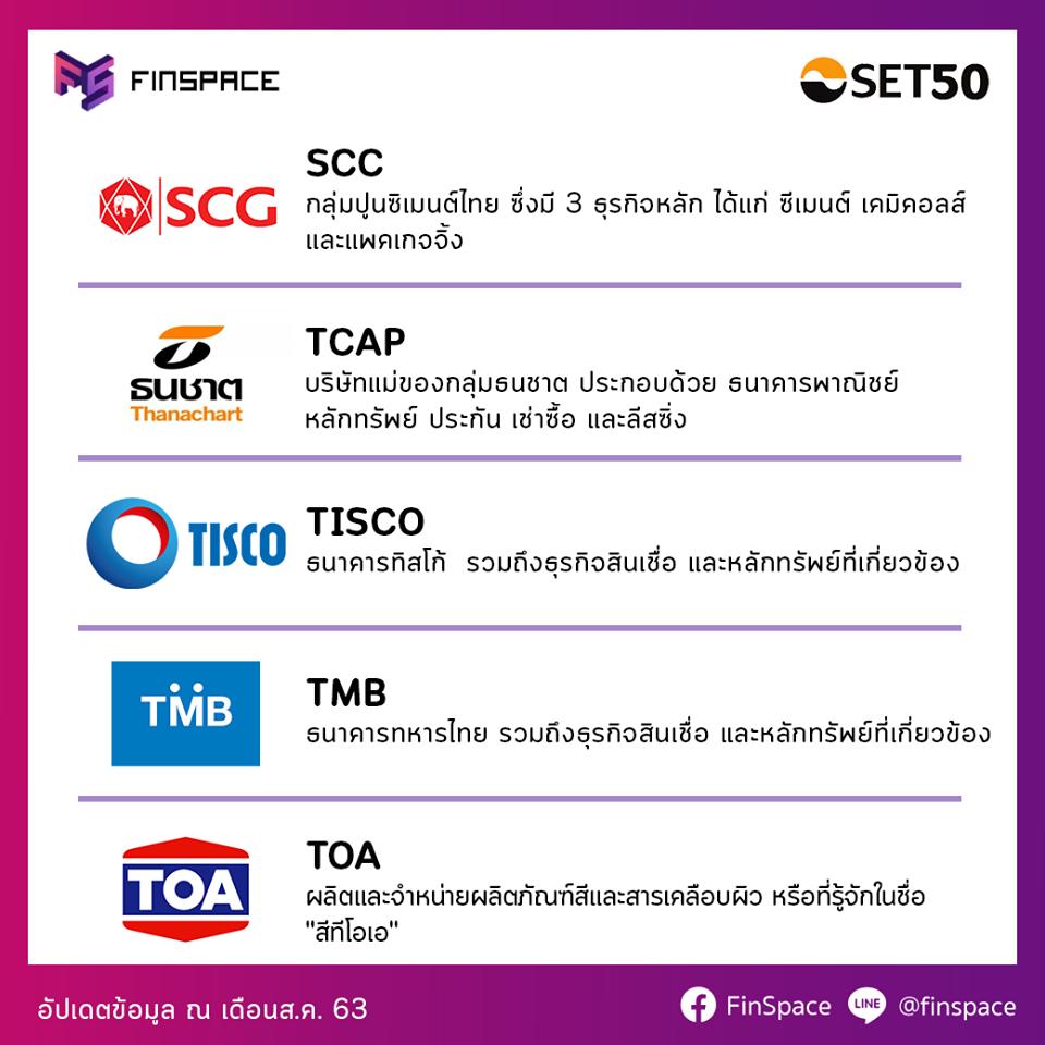 SCC TCAP TISCO TMB TOA