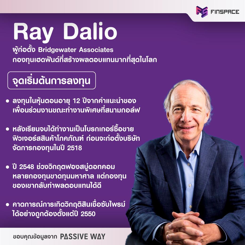 ประวัติ Ray Dalio (เรย์ เดลิโอ)